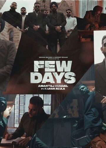 Few Days-Karan Aujla